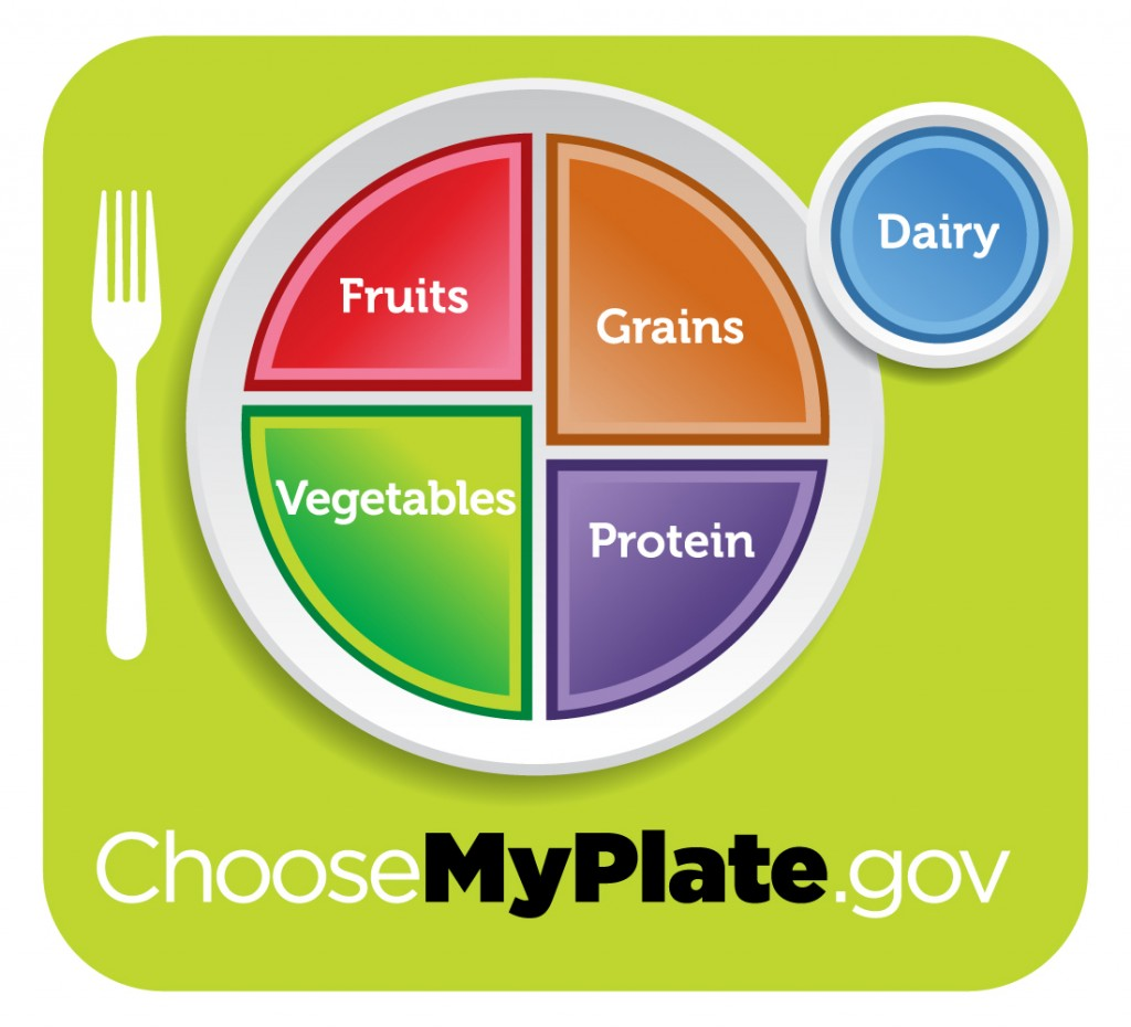 the USDA has scrapped its food pyramid in favor of a new MyPlate design
