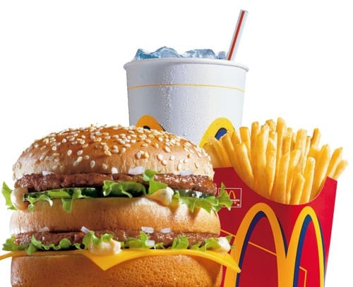Big Mac Super Sized Meal