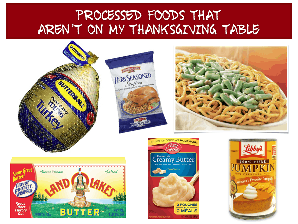 Six Simple Steps for a REAL FOOD Thanksgiving