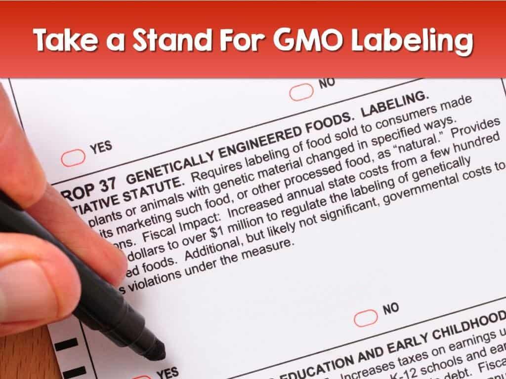 Take a Stand Against GMOs