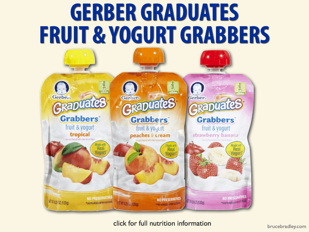 Gerber Baby Food Fruit