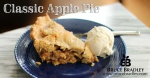 Bruce Bradley's Classic Apple Pie with a Whole Wheat Crust