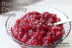 Ditch the canned cranberry sauce that's full of HFCS and maybe even BPA. Here's a recipe for a fresher, REAL alternative.