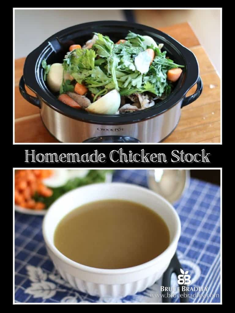 Homemade Chicken Stock is easier than you might think!