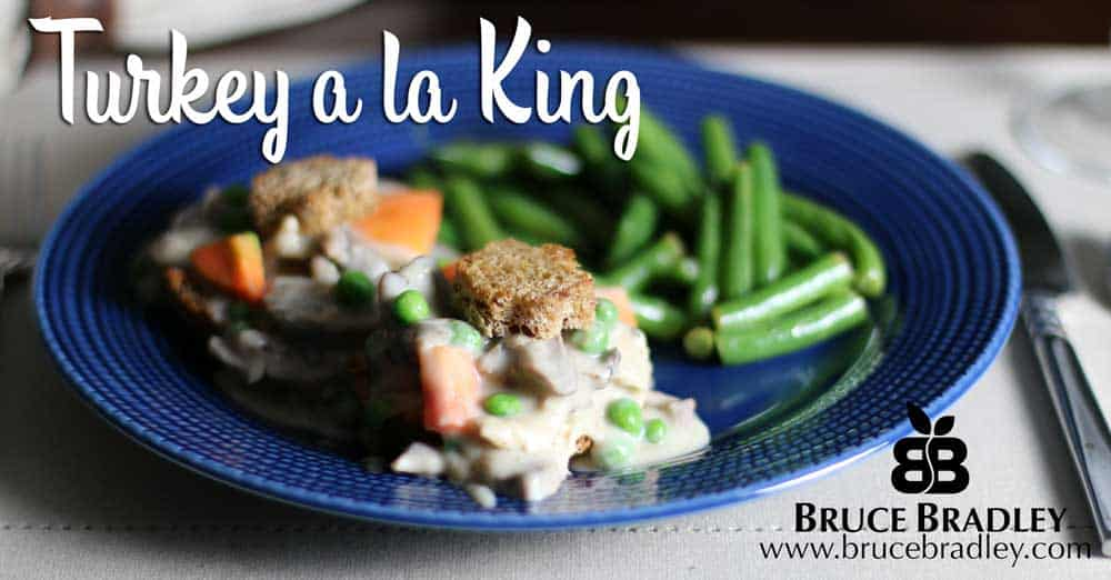 Turkey a la King is a Thanksgiving leftovers family favorite in our house!