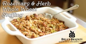 Rosemary and Herb Whole Wheat Stuffing