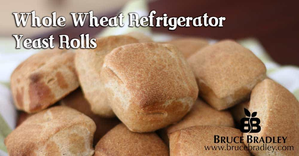 Recipe: Refrigerator Whole Wheat Rolls