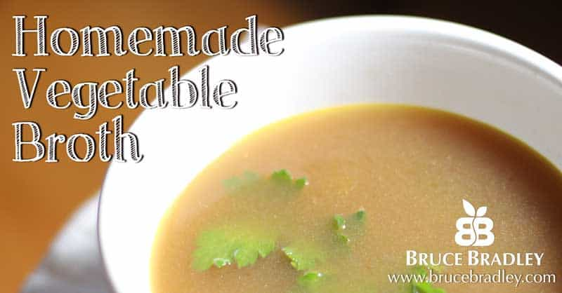 Recipe:  Homemade Vegetable Broth