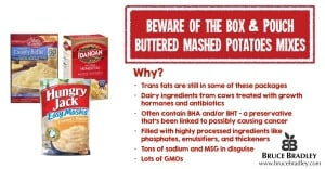 Boxed potatoes like to pretend they're like homemade, but one quick look at their ingredients tells a totally different story.