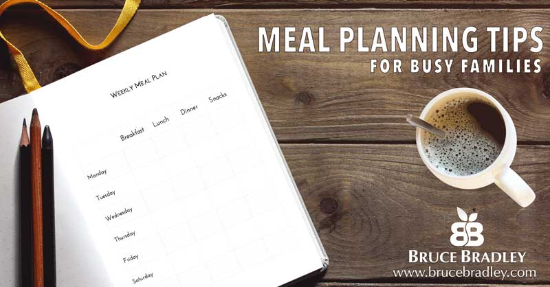 Success usually starts with a plan ... so here's our 7 Meal Planning Tips for Busy Families.