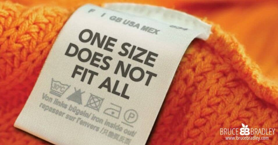 One Size Does Not Fit All When It Comes to Food