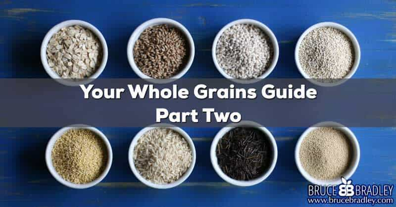 Learn how can you get more REAL whole grains in your diet!