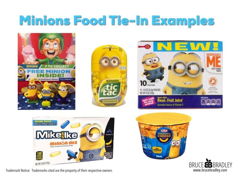 Minion Food Tie-In Examples