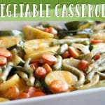 Bruce Bradley's Vegetable Casserole is a simple, delicious side dish that your whole family will enjoy!