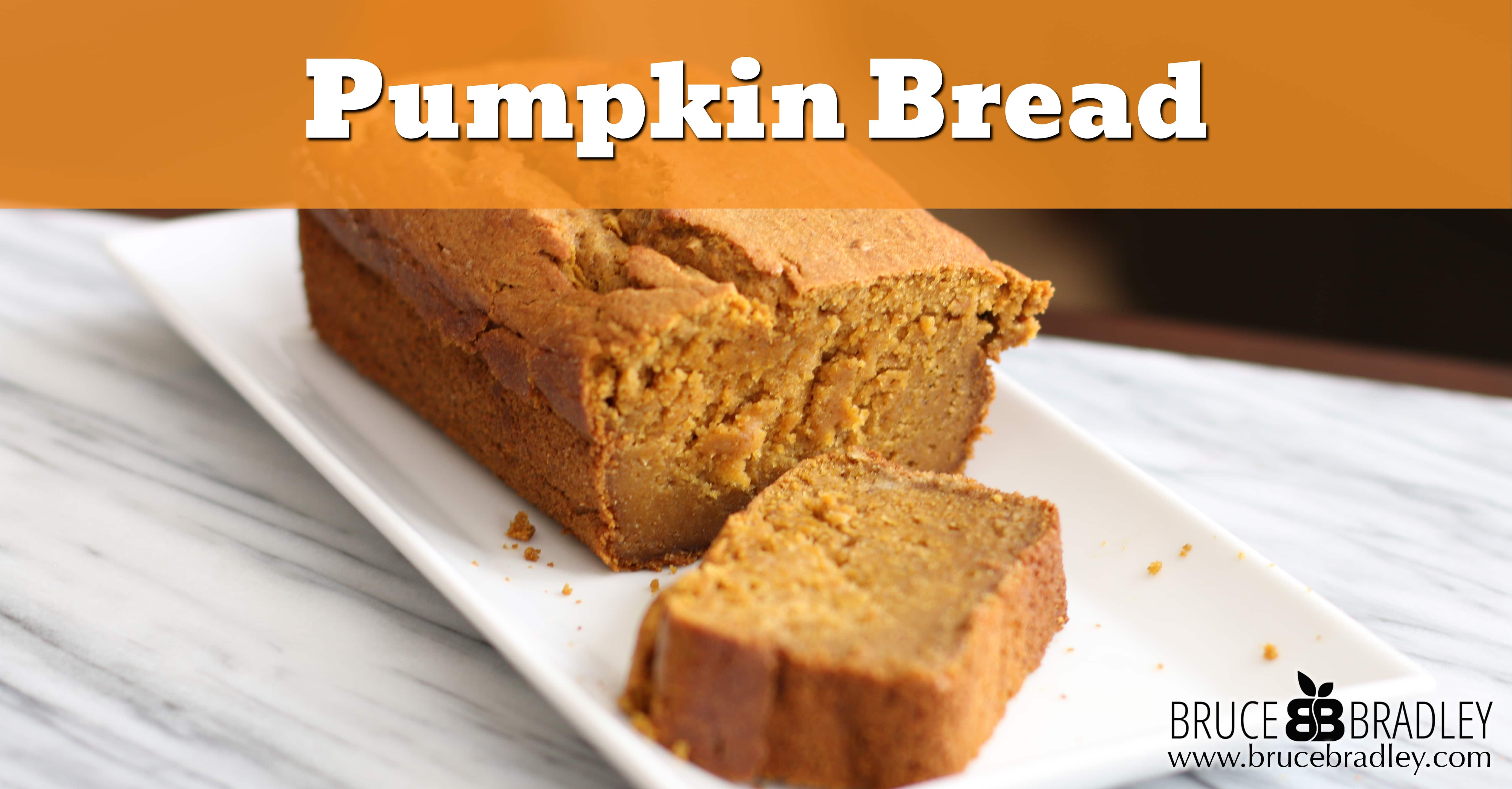 Finally, a delicious pumpkin bread that's not overflowing with sugar AND is made with real ingredients like whole wheat pastry flour, maple syrup, and of course, pumpkin!