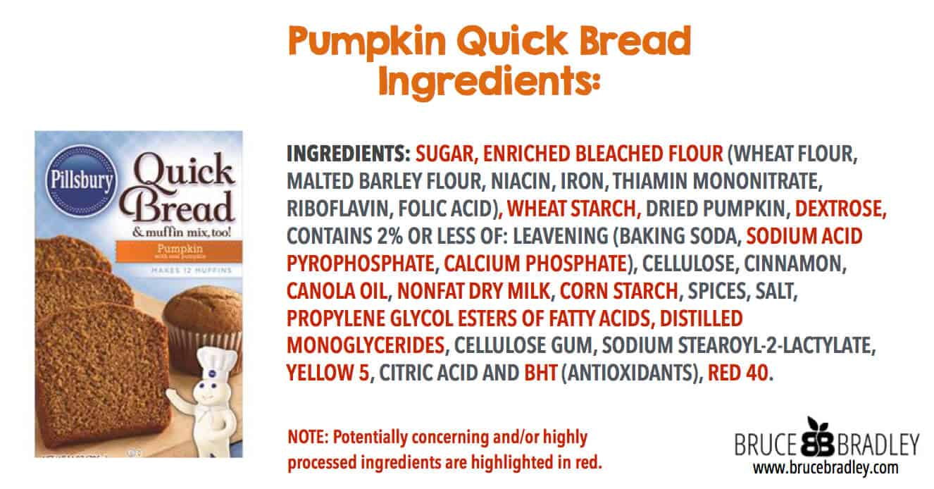 Boxed pumpkin quick breads may be a little more convenient, but they come with a whole host of highly processed ingredients and additives.