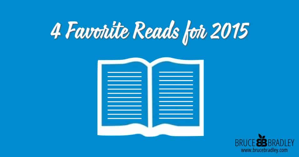 Bruce Bradley's 4 Favorite books about food for 2015.