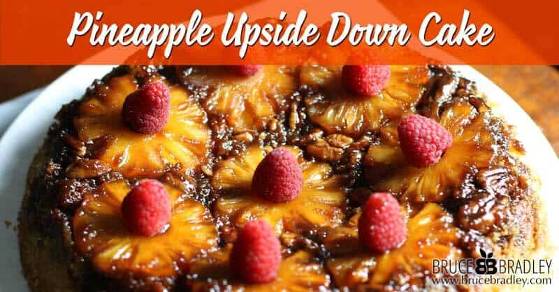 A delicious, unprocessed version of the classic Pineapple Upside-Down Cake recipe!