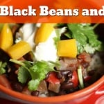 Inspired by the Cuban Black Beans and Rice I grew up with, this easy, homemade original will become a family favorite!