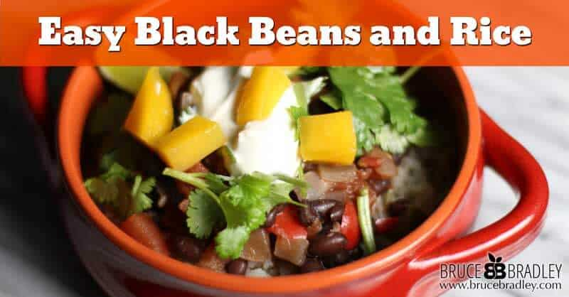 Recipe: Easy Homemade Black Beans and Rice