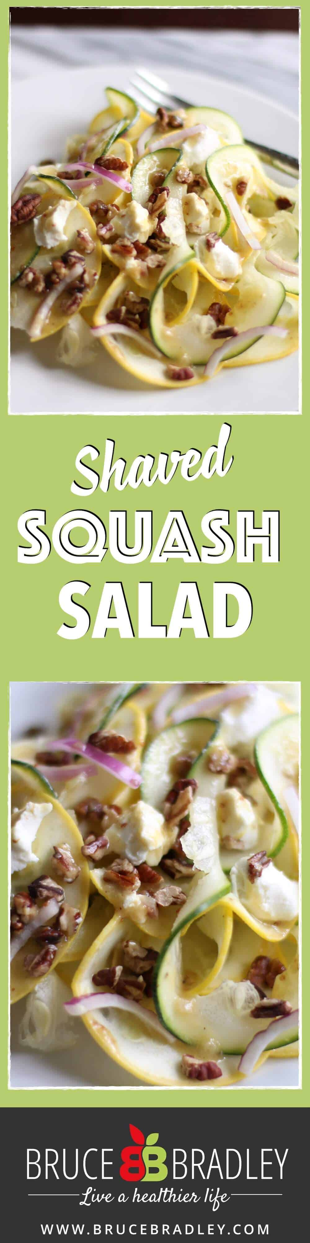 Looking to shake things up with your salads? Then try this Shaved Squash Salad with Chevre and a Mustard Vinaigrette. Can you say delicious!?!?!
