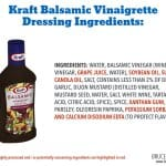 Despite making claims that imply their salad dressing add nothing fake, Kraft salad dressing still have a lot of highly processed ingredients and tons of sugar.