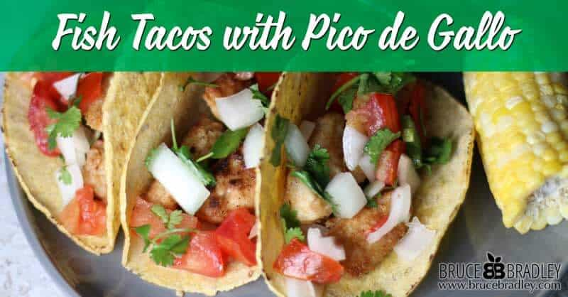 Recipe: Fast and Fabulous Fish Tacos And Cookbook Review