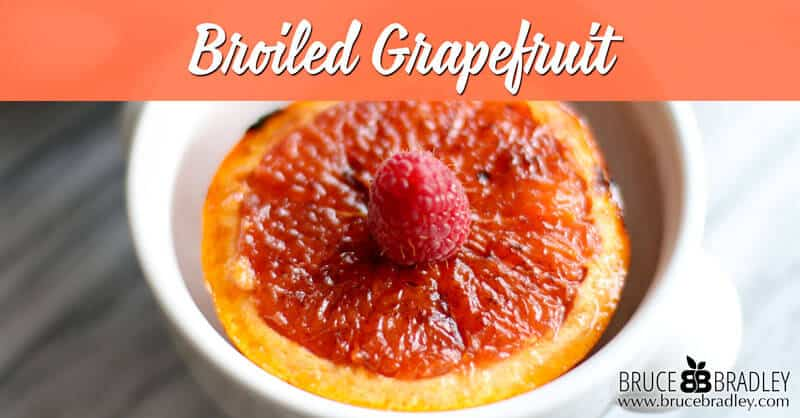 This broiled grapefruit is an amazing, restaurant-inspired recipe that's perfect for breakfast or a wonderful start or end for any meal!