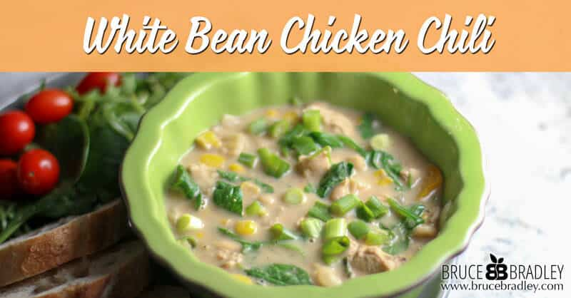 Recipe: White Bean Chicken Chili - Bruce Bradley