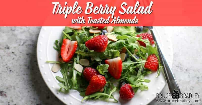 Recipe: Triple Berry Salad with Toasted Almonds
