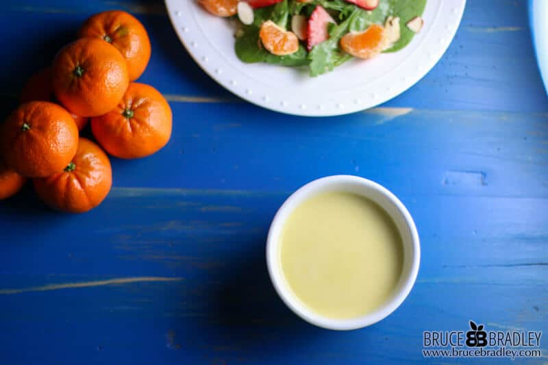 Dress up your salad with this amazing and easy Orange Vinaigrette! Perfect for any salad, it's especially tasty over my Orange Spinach Salad with Almonds!